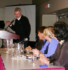Vaughn Leads Panel