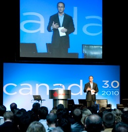 Canada 3.0 conference speaker
