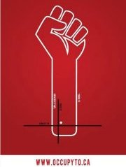 Occupy TO poster