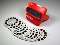 ViewMaster reels and viewers