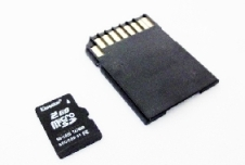manufacturer's image of microsd card