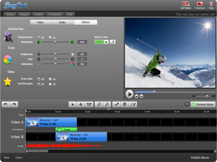 JayCut video editing software was acquired by RIM