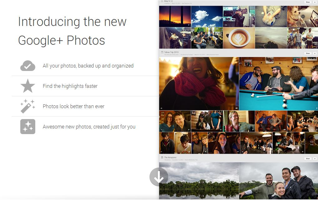 introducing the new google plus photos
