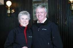 Retired General Rick Hillier and recording artist Anne Murray help launch the TELUS Atlantic Canada Community Board in Halifax.
