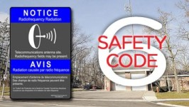 The safety code for wireless use and radiation exposure is being reviewed.