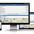 BusTracker app on PC, tablet and smartphone screens