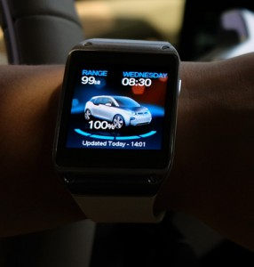 Galaxy Gear BMW