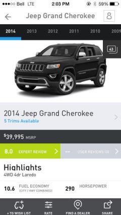 Autofocus app screen