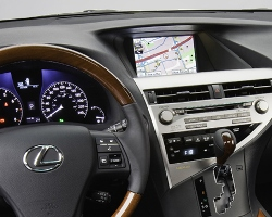 Canadian technology has helped turn a late model Lexus into a highly connected vehicle.