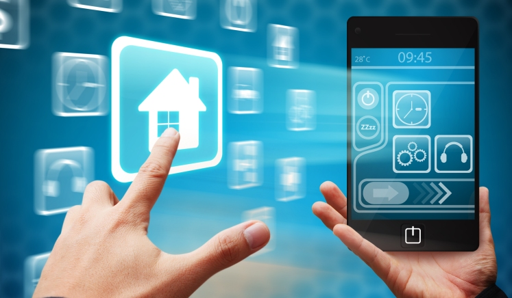 Devices in smart homes and network connections among the Internet of Things are vulnerable to hacking and cyber attacks. www.123rf.com/stock-photo/business_graphics.html