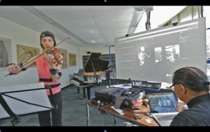 tracking violinist at U of T