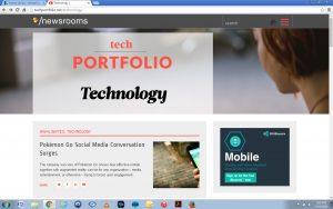 TechPORTFOLIO web-capture
