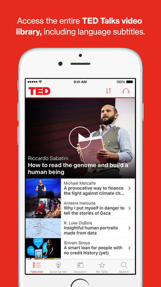 Ted talk on dating apps