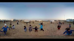 VR Video Immerses Viewers in Refugee Crisis