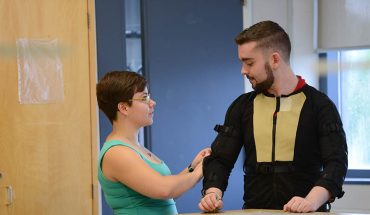 Special Suit Uses Motion Capture Technology to Help Parkinson's Patients