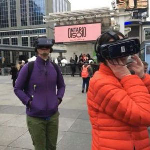 Country Captured in 360 Video, Interactive VR for Canada 150