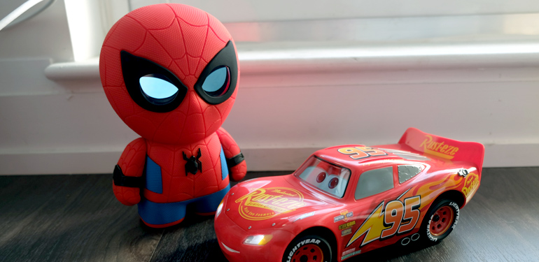 reviewing the sphero ultimate lightning mcqueen and spider man toys wyt canadian tech news. Black Bedroom Furniture Sets. Home Design Ideas