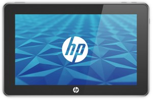 HP's Slate PC runs Windows 7 and can double as a Kindle eReader and media player