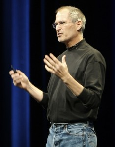 Apple CEO, Steve Jobs who has been instrumental in the Company's success. Photo Credit: Ben Stanfield