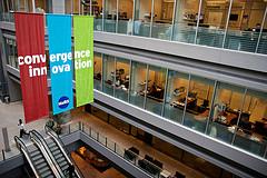 Inside the MaRS Centre in Toronto