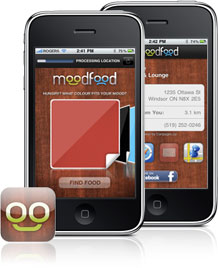 The new MoodFood iPhone app