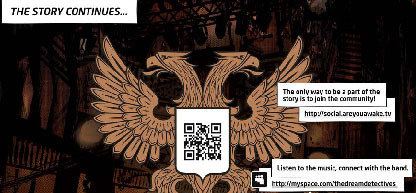 quick response codes shown in comic book