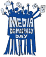 Media Democracy Day logo