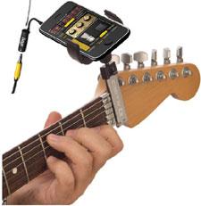 Guitar Sidekick with AmpliTude iPhone app
