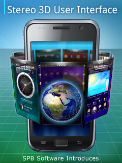 3D stereo mobile interface