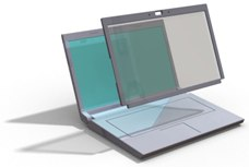 3dee laptop screen-prototype
