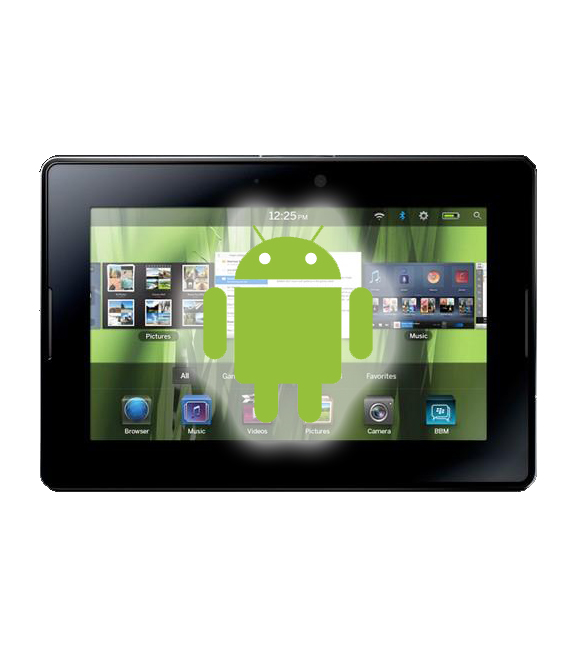 BlackBerry PlayBook Will Support Android Applications