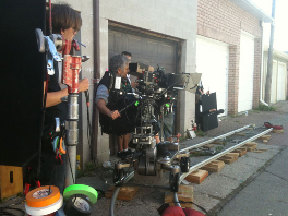 3D production crew