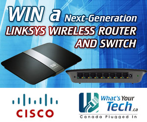Win a next-generation Linksys wireless router and switch