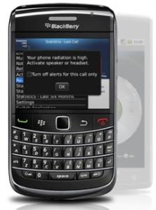 Tawkon app on BlackBerry