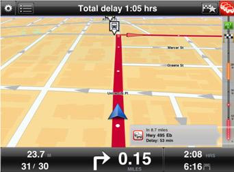 HD Traffic on iPad