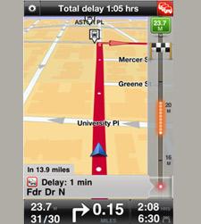HD Traffic on iPhone