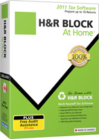 Win a copy of HR Block's At Home tax software!