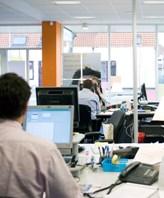Randstad-Zaandam office workspace