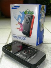 Samsung camcorder and box