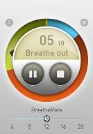 Breathe app screen capture