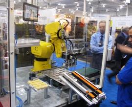 robotic cupcake machine