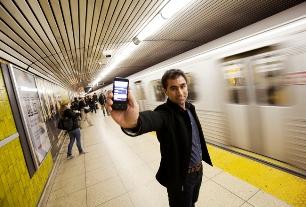 hossien in subway