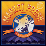 market fresh mini poster