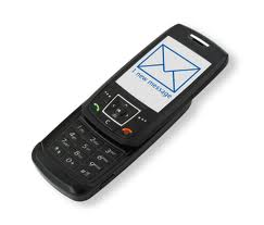 cellphone with sms on screen at http://www.gaj-it.com/22364/happy-birthday-sms-25-years-of-short-message-service/