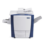New colour office printers, like the Xerox ColorCube series, can be controlled with a mobile device.