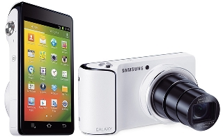 The Samsung Galaxy Camera has great photographic features and functions, like the extra long zoom lens, as well as powerful software tools from its Android operating system.