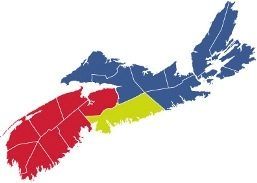 Map Crown copyright © 2013, Province of Nova Scotia
