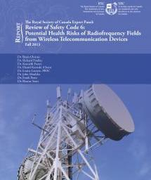Cover of a report on Wi-Fi safety and health concerns