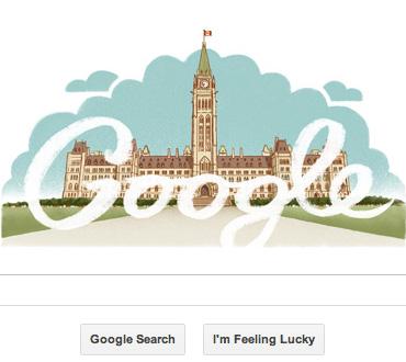 Google Canada home