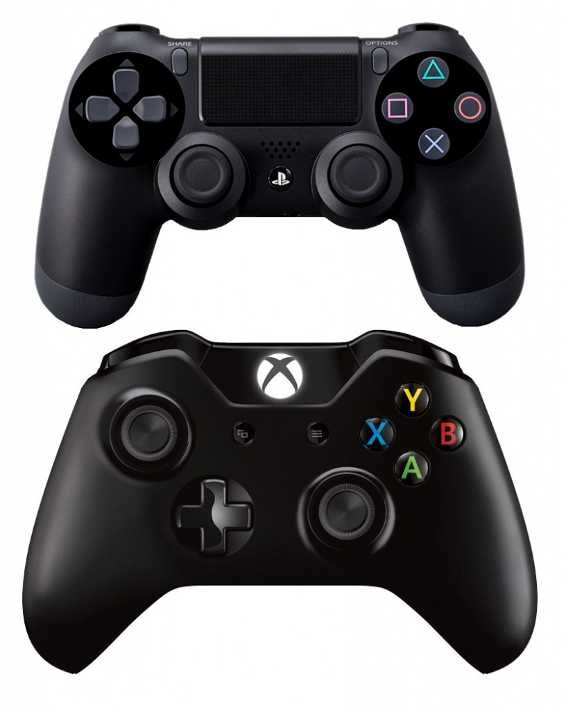 PS4 Xbox One controller